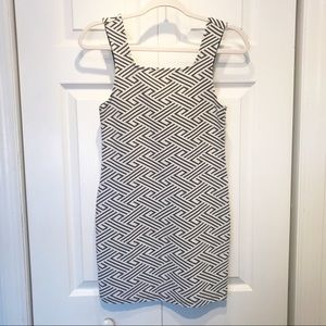 TopShop Black and White Dress
